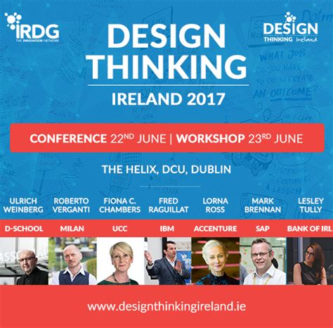 design thinking conference 2017 irish european speakers from hpi d school potsdam