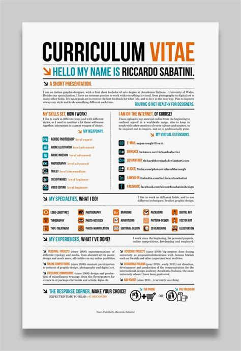 resume template cool 78 best images about resume design layout on