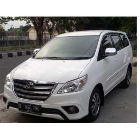 Pangkon Transmisi Innova Diesel mobil toyota kijang innova tipe g diesel tahun 2015 automatic sleman yogyakarta dijual