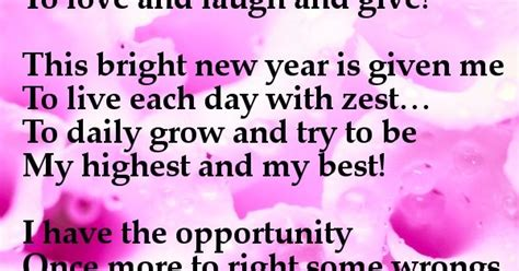 new year poems for friends another fresh new year is