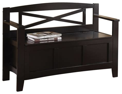accent bench with storage metro entry way bench transitional accent and storage