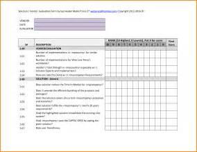 vendor evaluation template authorization letter pdf