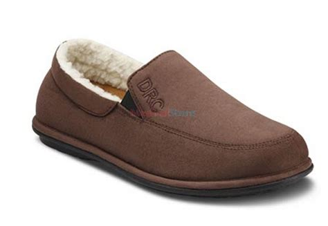 Relax Dr Comfort Slippers Closed Heel Mens