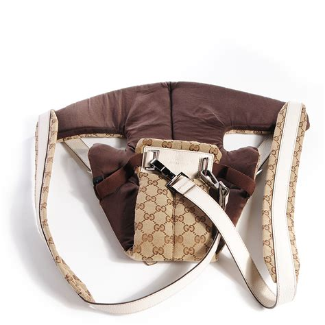 Gucci Baby Carrier Favorite by Gucci Monogram Baby Carrier White 76289