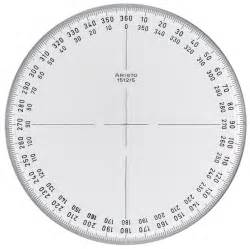 Protractor Template by Pin 360 Protractor Template Printable Geometry On