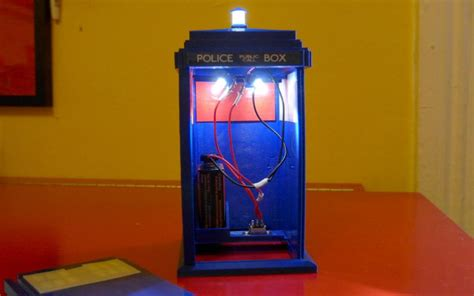 Weekly Roundup Ten 3d Printable Doctor Who Things Doctor Who Lights