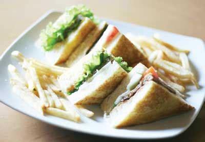 Teflon Segi Empat resep dan cara membuat sandwich mudah enak the kaltara