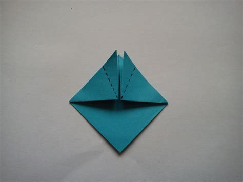 Origami Top Hat - arts crafts origami for step by step how to make