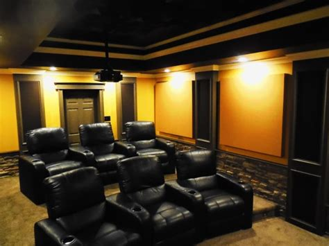 home theater design jobs a home theater acoustic treatment layout in north carolina