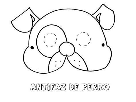 dibujos para colorear con los ni os de animales marinos antifaz de perro dibujos para colorear con los ni 241 os