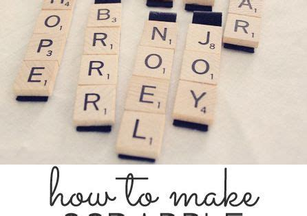 easy scrabble scrabble ornaments easy craft tutorial magnets