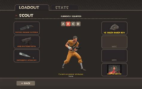 d d d class scout reskin red only team fortress 2 gt skins