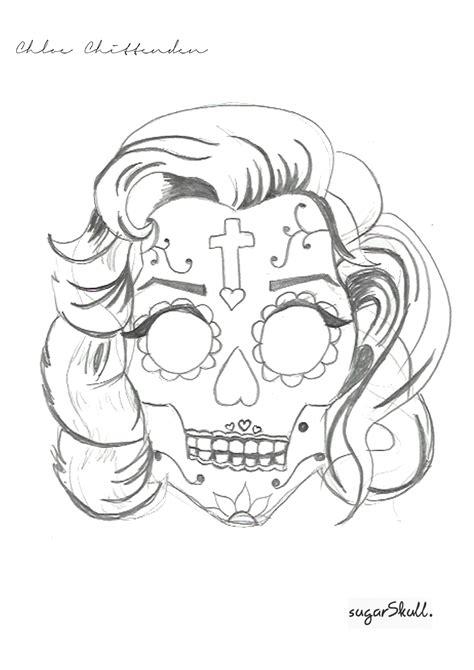 marilyn monroe half skull tattoo hot girls wallpaper