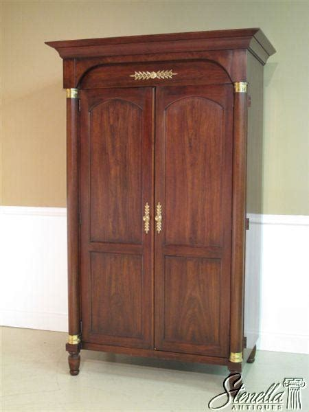 used armoires for sale 11689 statton french empire entertainment armoire for