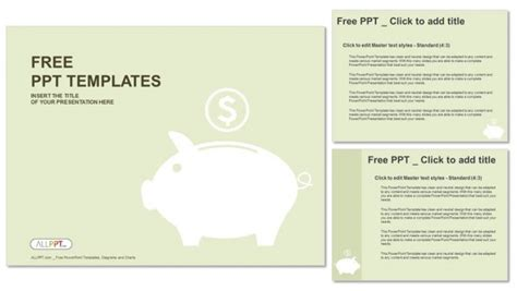 money templates for powerpoint free download piggy money box powerpoint templates