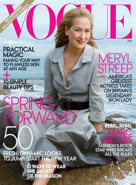 The Meryl Streep Covers Vogue meryl streep for january vogue is mag s oldest cover