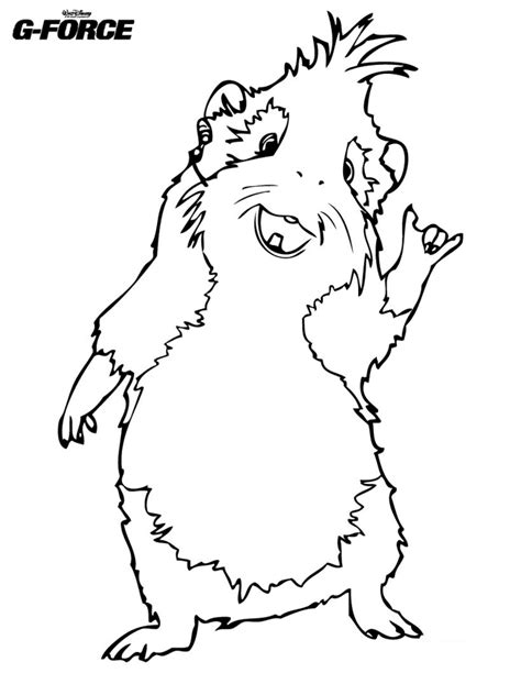 Guinea Pig Coloring Pages For Kids Coloring Home Guinea Pig Colouring Pages