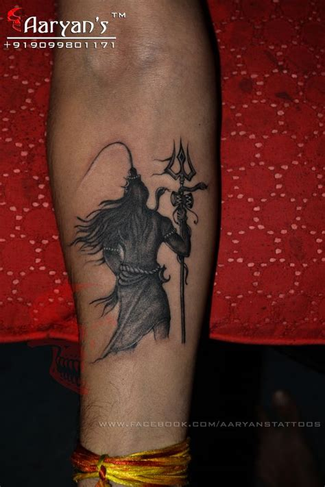 mahadev tattoo designs har har mahadev mahakal lord shiva done by