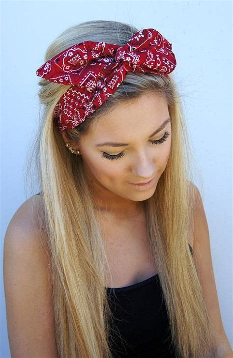 16 beautiful hairstyles with scarf and bandanna pretty best 25 hairstyles with headbands ideas on pinterest