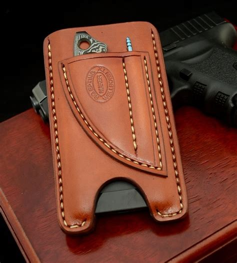 Handmade Leather Cell Phone Cases - 17 best ideas about custom knives on knives