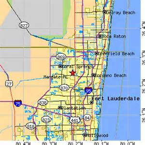 where is margate florida on map margate florida fl population data races housing