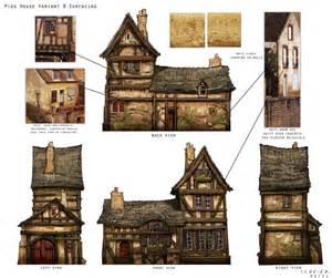 Medieval House Plans by Great Medieval House Plan Miniatures Pinterest