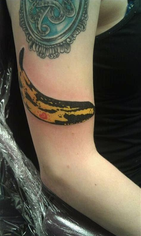 andy warhol tattoo andy warhol banana by at electric city