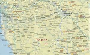Map Of Tuscany Italy by Tuscany Map Tuscany Mappery