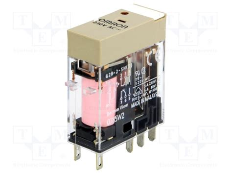 Omron G2r Relay g2r 2 sn 230vac s omron relay electromagnetic tme