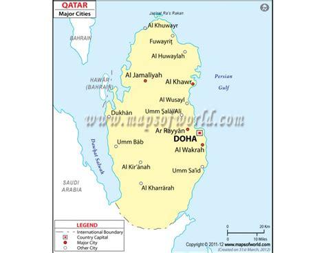 zip code map qatar buy qatar cities map