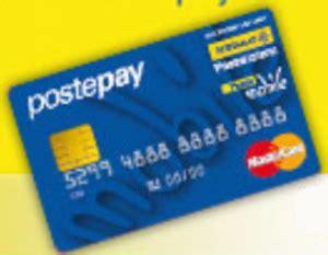 costo ricarica postepay ufficio postale postepay