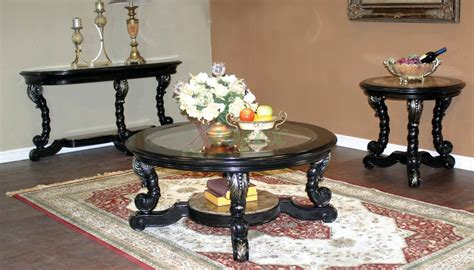 Alya Coffee Table Set Living Room Furniture Toronto Xiorex Living Room End Table Sets