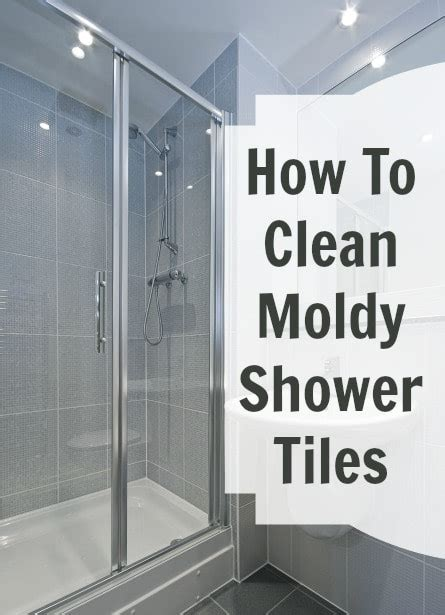 moldy shower tile cha cha cha home ec 101