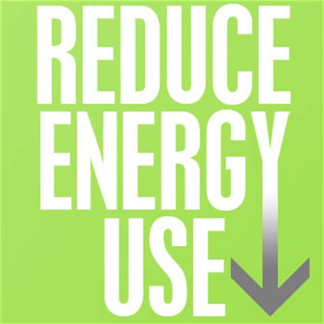 how to downsize trying to reduce energy consumption in your plant