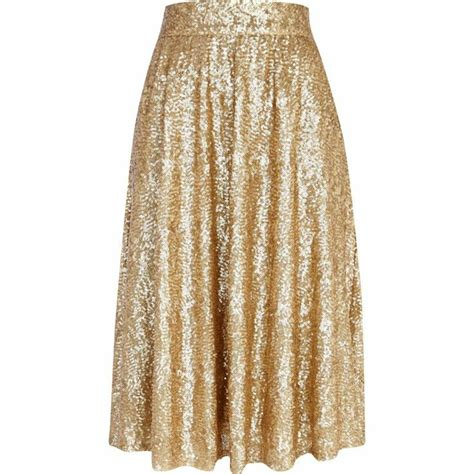 gold sequin a line midi skirt my style i wish