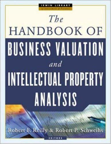 the handbook of business valuation and intellectual