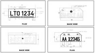 new car plate number philippines lto to issue new license plates by september 2013 auto