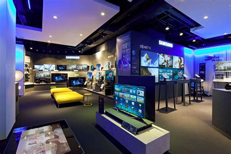 Home Design Stores Nyc by Samsung Shop In Shop At Selfridges By Dalziel And Pow