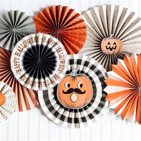decoracion de hallowen decoraci 243 n para fiesta de halloween abanicos de cart 243 n