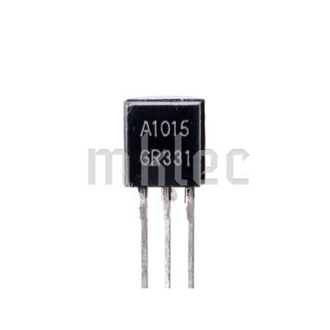 transistor pnp a1015 a1015 2sa1015 pnp audio lifier transistor