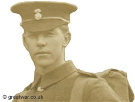 joe strudwick of world war 1 featuring on greatwar co uk