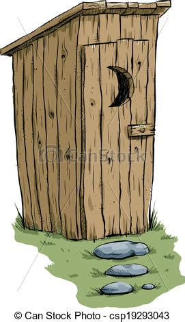 Small House Plans Free by Eps Vector Of Outhouse A Retro Cartoon Outhouse