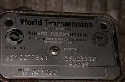 Allison 3000 4000 Transmission Tech Tips