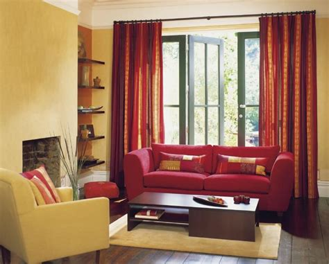 53 Living Rooms With Curtains And Drapes Eclectic Variety Red Black Living Room Decorating Ideas