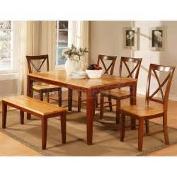 Two Tone Dining Room Sets two tone cherry dining room set world imports furniturepick