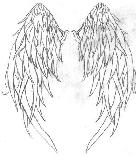 angel wings tattoo on back back images designs