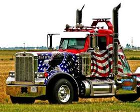 American 18 Wheeler Truck Free Patriotic Semi Truck Photos Cdllife