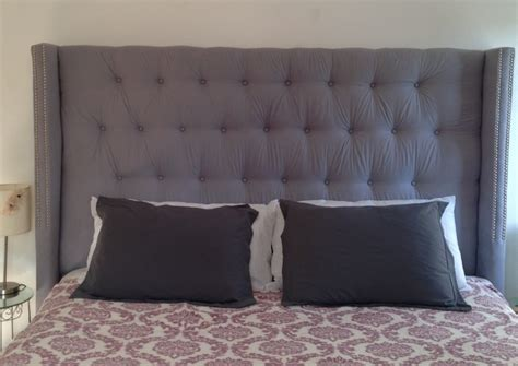 wingback headboard diy my ultimate diy project king size tufted wingback