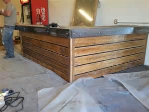 13 amazing wood pallet reception desk pallets designs