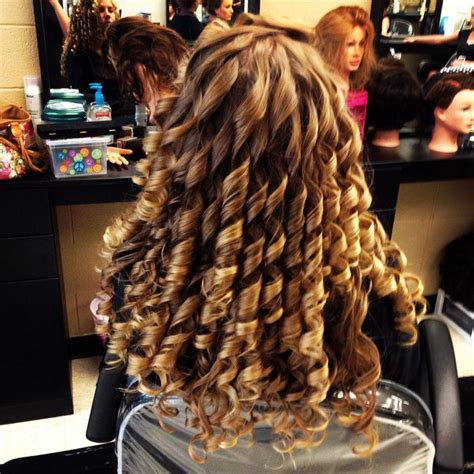 forcefully curling his long hair 17 best images about roller sets perms and comb outs on